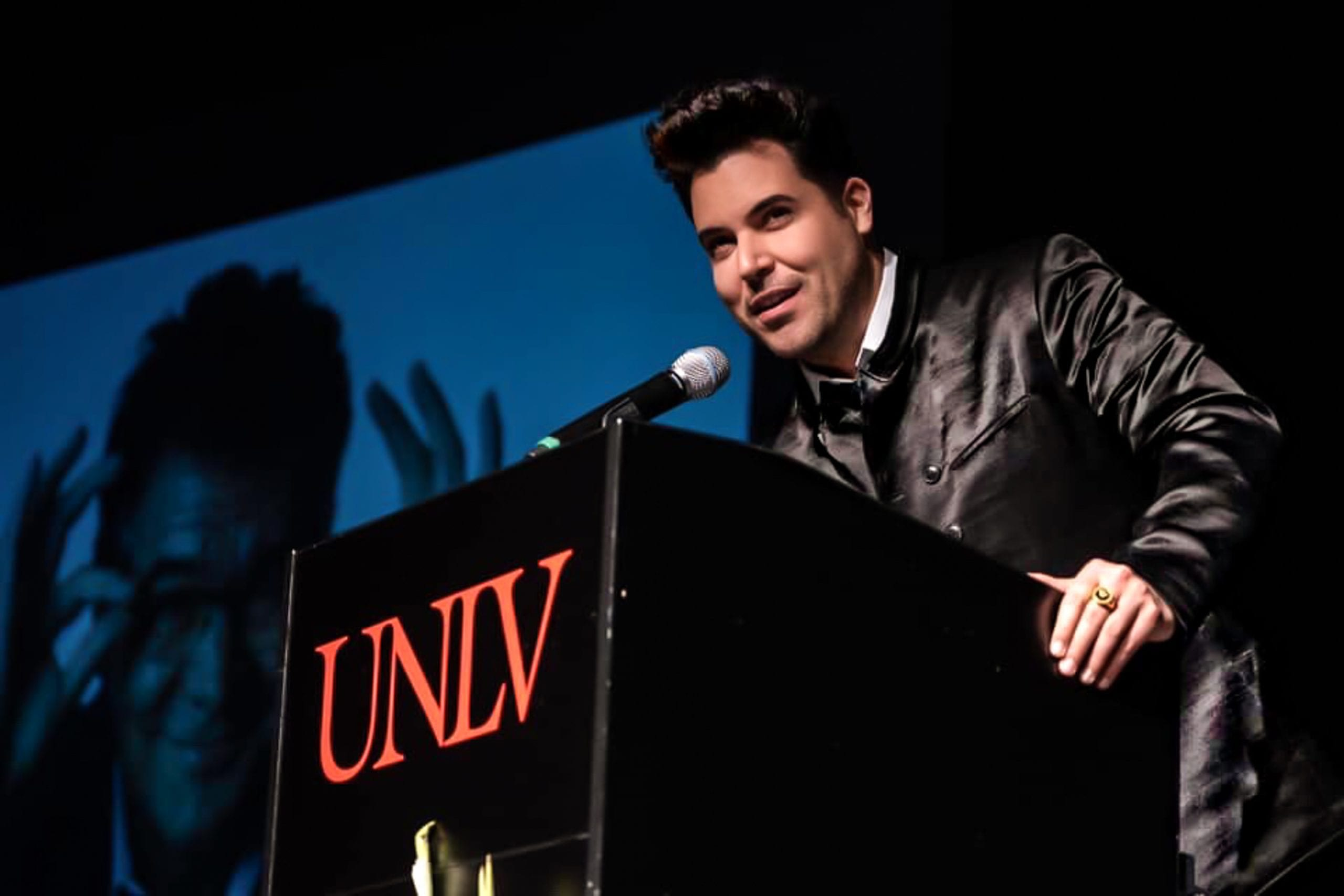 MORENO IS INDUCTED INTO THE UNLV HALL OF FAME
